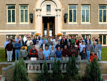 One hundred years later ... Geophysical Laboratory staff members, 2004.